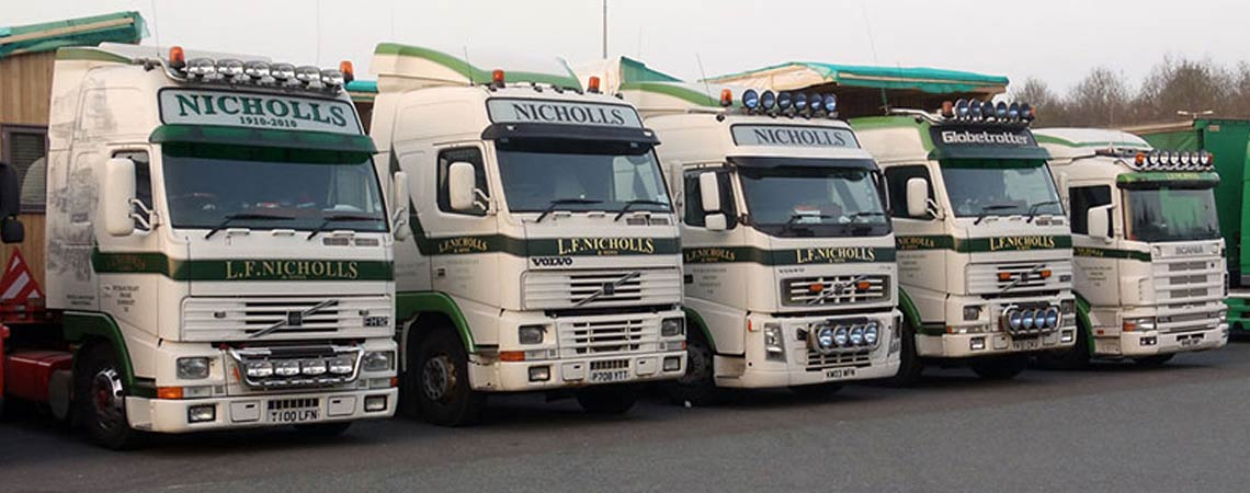 Somerset Truck Fleet in Convoy