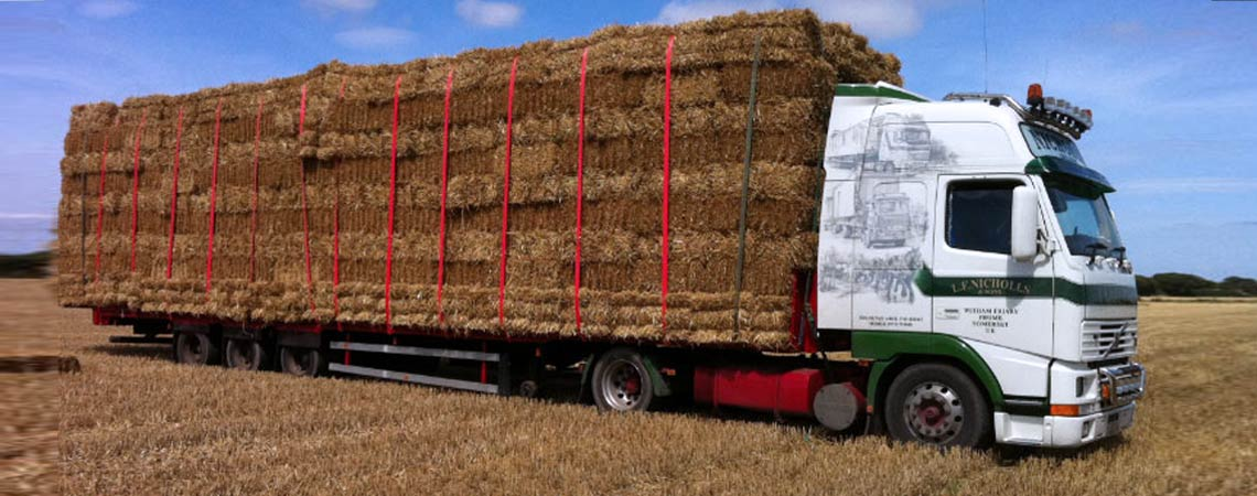 Hay Bales Transportation