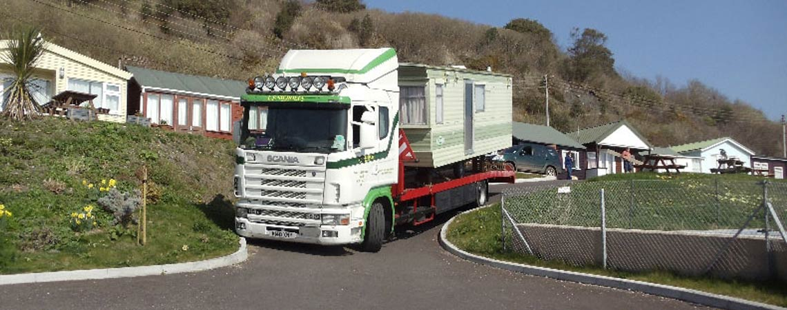 Static Caravan Moving Somerset