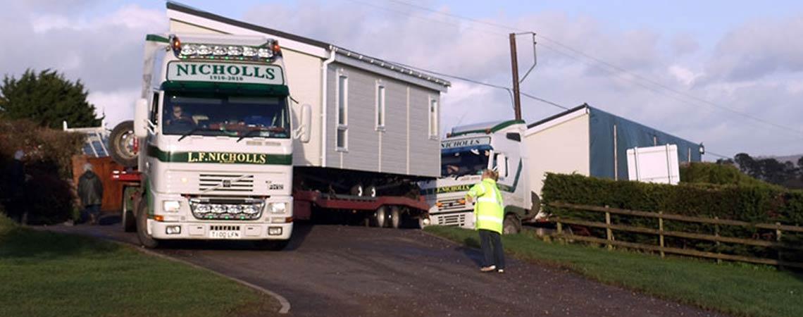 Static Caravan Siting