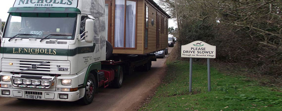 Static Caravan Movers in Somerset