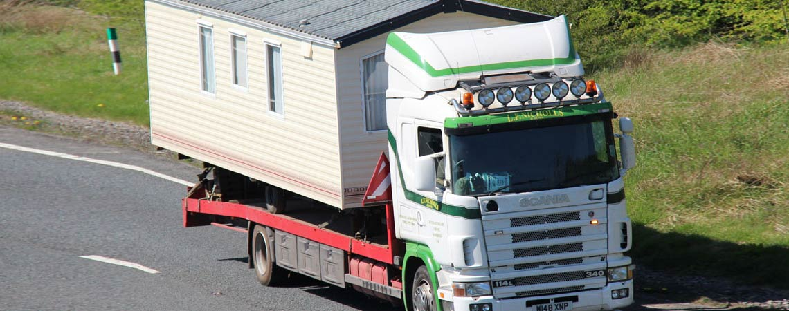 Static Caravan Movers Devon