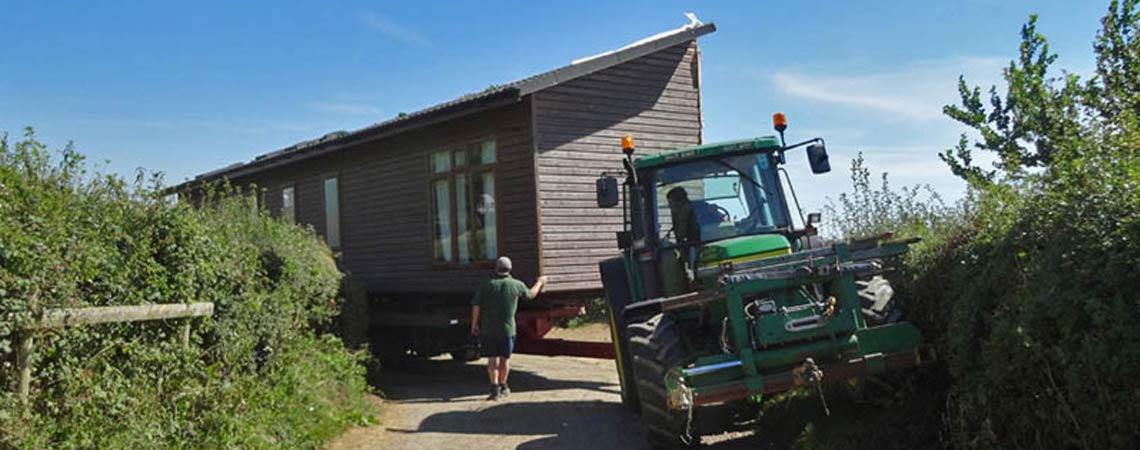 Static Building Movers Devon